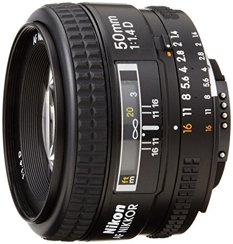 Nikon Nikkor 50 mm f 1:1,4D- Objetivo para Nikon (Diámetro: 64mm) color negro