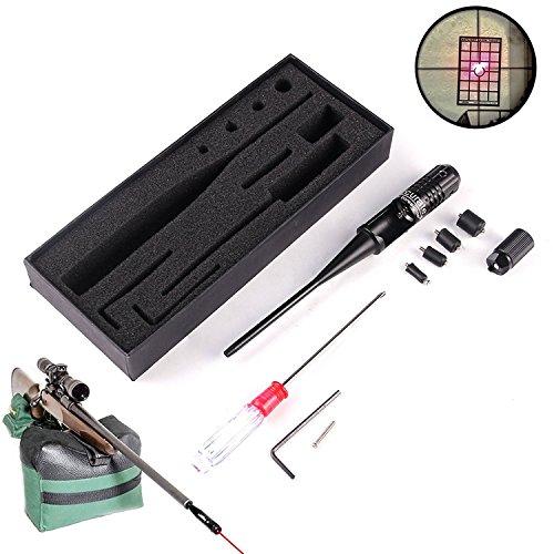 Spike Laser Rouge kit Bore Sighter pour 0.22-0.50 Caliber Rifles Pistolet HD1027 Chasse(sans Batterie)