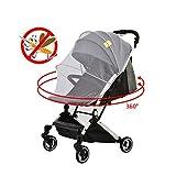 Baby Moskitonetz für Kinderwagen, Krippe, Pack und Play, Stubenwagen, Laufgitter   Große, elastisch, und atmungsaktiv, Hohe Dichte Baby Insektenschutz