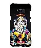 FUSON Designer Back Case Cover for Samsung Galaxy S8 Plus (Ganesha Ganesh Ganapathi Shivputra Parvati Putra)
