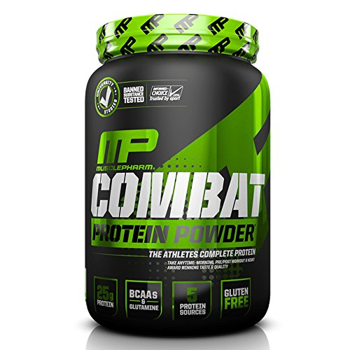 MusclePharm 2 lb Chocolate Peanutbutter Combat Powder