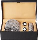 Tossido Men's Synthetic Tie Set (PNTS54_...