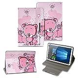 NAUC Tablet Tasche für Acer Iconia One 10 B3-A40 Hülle Schutzhülle Case Schutz Cover, Farben:Motiv 1