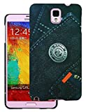Heartly Jeans Style Printed Design High Quality Hard Bumper Back Case Cover For Samsung Galaxy Note 3 III N9000 N9005 - Big Pocket