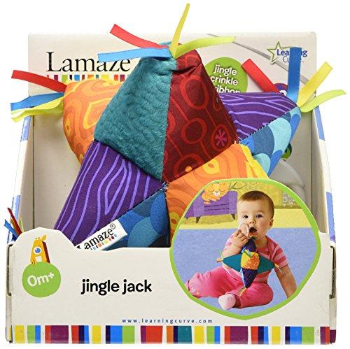RC2 (Learning Curve) Lamaze 27127MP - Glöckchen-Jack, der weiche Glöckchen-Jack stimuliert die Sinne des Babys