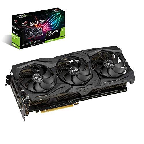 Graphics Card ASUS NVIDIA GeForce GTX 1660 TI 6 GB 192 bit PCIE 3.0 16x GDDR6 Memory 12002 MHz GPU 1500 MHz Dual Slot Fansink 2xHDMI 2xDisplayPort STRIX-GTX1660TI-O6G-GAM