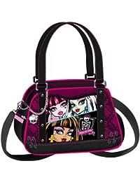 Monster High Sac Bandoulière Sac à Main Cute Lolita 23 cm (noir) 79074