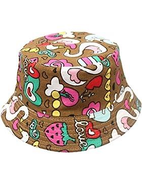 7 COLOR WINGS niños del verano del bebé del cubo casquillo de los sombreros de Sun Beach Beanie