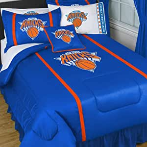 NBA New York Knicks MVP Twin Comforter Sets