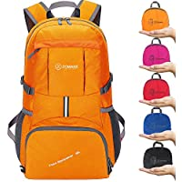 ZOMAKE Camping Backpack Hiking Daypack - Foldable backpack, Packable backpacks for Outdoor Day Hiking