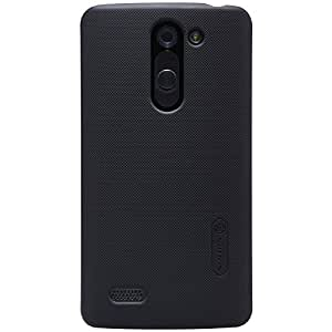 Nillkin Frosted Hard Back Case Cover for LG L Bello D 335 + Screenguard - Black