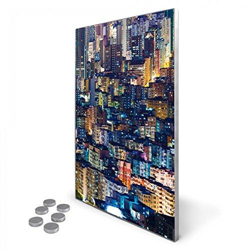 edelstahl-magnettafel-35x50-cm-inkl-6-magneten-design-magnetwand-fur-kuche-und-buro-banjado-memoboar
