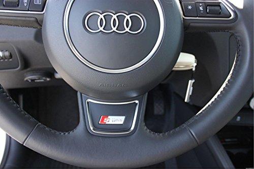 audi-s-line-sline-s-line-argent-volant-embleme-autocollants-logo