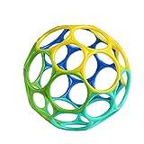 Oball Classic, Flexibles und leicht Greifbares Design für Kinder Jeden Alters, Blau/Grün