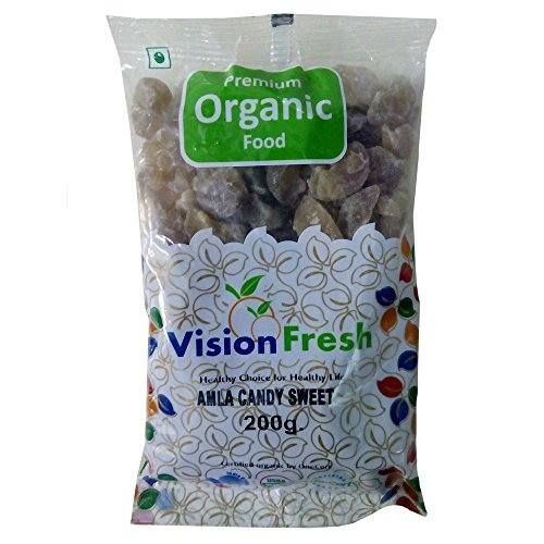 Vision Fresh Organic Amla Candy (Sweet) - 200 grams  available at amazon for Rs.89