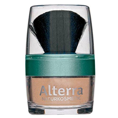 Alterra Loser Mineralpuder 7 g Farbe 02: Honey, mit Granatapfelextrakt, ohne synthetische...