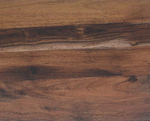 *Klebefolie EICHE RUSTIKAL Dekofolie Möbelfolie Tapeten selbstklebende Folie, PVC, ohne Phthalate, Natur-Holzoptik braun, 45cm x 3m, 95µm (Stärke: 0,095 mm), Venilia 53155*