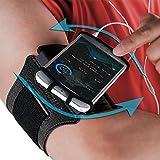Bracciale: porta cellulare custodia fascia da braccio mobile Exercise running allenamento per Apple iPhone 66S 78x Plus touch Plus Samsung Galaxy S5S6S7S8S9note 85Edge pixel (girevole)