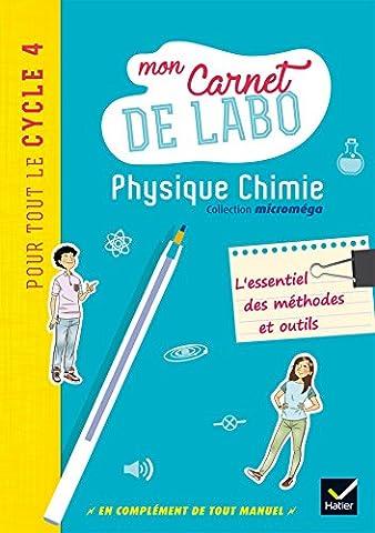 Livre Physique Chimie - Microméga - Physique-Chimie Cycle 4 Éd. 2017