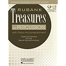 Rubank Treasures for Percussion: Book with Online Audio (Stream or Download)