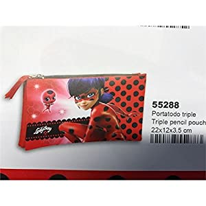 Montichelvo 3628729031 – Portatodo Triple Ladybug