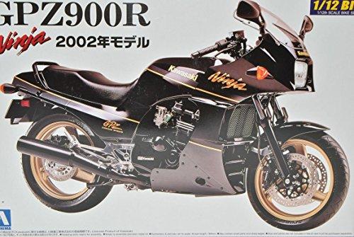 Kawasaki GPZ900R 2002 Ninja Schwarz 042878 Kit Bausatz 1/12 Aoshima Modell Motorrad Modell Auto