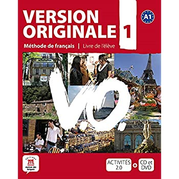 Version Originale 1 : Méthode de français (1DVD + 1 CD audio)