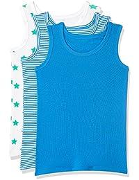 Marks & Spencer Boys' Striped Vest (Pack of 3)