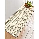 Saral Home Cotton Anti Skid Yoga Mat/Runner -60x180 cm; Grey