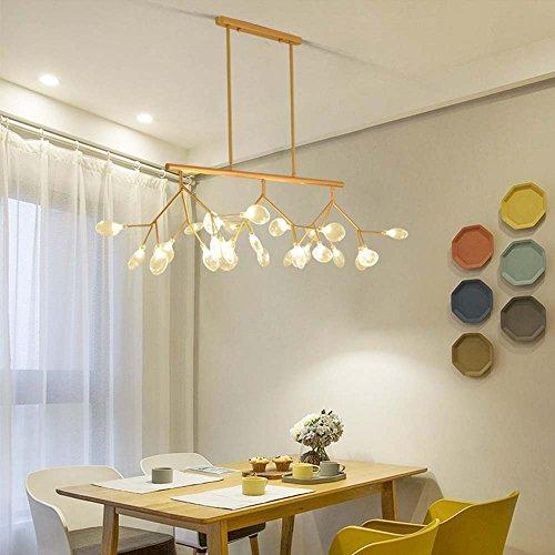 Lámpara colgante de Firefly, estilo moderno del poste Lámpara de la lámpara de Firefly caliente para el dormitorio / la sala de la cantina / la iluminación pendiente de la lámpara del bar incluido 27 tamaño de la lámpara -120x78cm