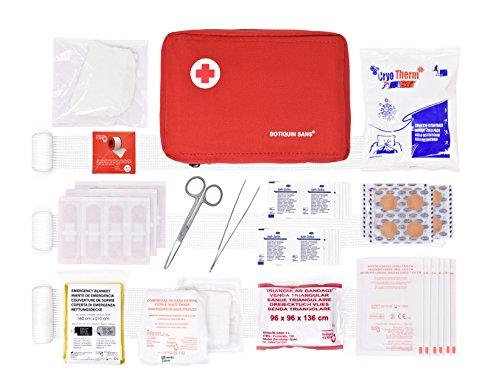 Botiquín primeros auxilios ROL 90 artículos incluye