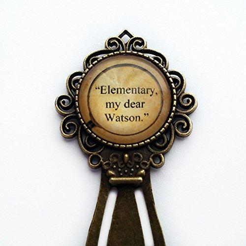 sherlock-holmes-elementary-my-dear-watson-bookmark
