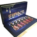 OYOTRIC 6 Pcs / Set Matte Velvet Lip Gloss longue durée Liquide rouge à lèvres Kit
