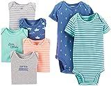 Carter's Baby Boys Paquete de 7 Body (bebé) Variado niño - Multi - 3 Meses