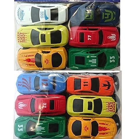 Amscan Kleine Spielzeug-Autos 12er Pack