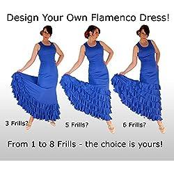 ¡Diseña tu Traje de Flamenca a tu gusto! Producción Express!