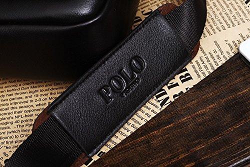 VIDENG POLO , Borsa Messenger  nero Black Black