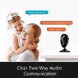 ANNKE IP Kamera Kompatibel mit Amazon Alexa,1080P HD Home WiFi Sicherheit Überwachungs kamera,Wi-Fi Indoor Überwachungskameras mit 2-Wege-Audio,Haustier,Baby-Monitor, Nachtsicht, Bewegungserkennung - 3