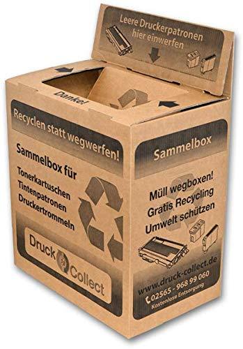 Toner entsorgen   Sammelbox für Leere Druckerpatronen   Kostenlose Entsorgung von Tonerpatronen   bundesweit   gratis   Jetzt Leere und gebrauchte Druckerkartuschen abholen Lassen!