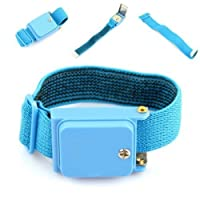 CCINEE Cordless Anti-Static Wrist Strap Discharge Band, Blue
