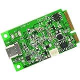 iocrest Mini PCI-Express 2.0auf USB 3.1der U89Gen 2Karte Chipset–Grün - gut und günstig