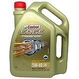 #8: Castrol 6114772 Edge Ti 5W-40 Car Engine Oil (3.5 L)