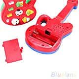 timeracing Electronic Guitar Nursery Rhyme Music Children Baby Kids Educational Toy Gift