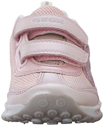 Geox Mädchen J Shuttle Girl A Low-Top Pink (Pinkc8005)