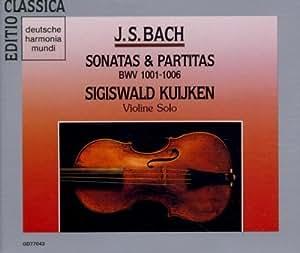 Sonates & Partitas pour violon