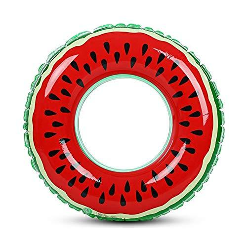 Wassermelonen-aufblasbarer erwachsener Kinderschwimmring-aufblasbarer Pool-Floss-Kreis für erwachsene Kinder