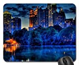 Midtown Atlanta from Piedmont Park Mouse Pad, Mousepad (Houses Mouse Pad)