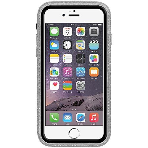 Amzer Crusta edge2edge Shell Housse Coque Étui robuste avec verre trempé et clip ceinture pour iPhone 6Or/Argent _ P Black/Gold/Grey/Silver