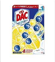 DAC Fragrance Boost Toilet cleaner Rim Block -Pack of 3 Rim Blocks 150 gm