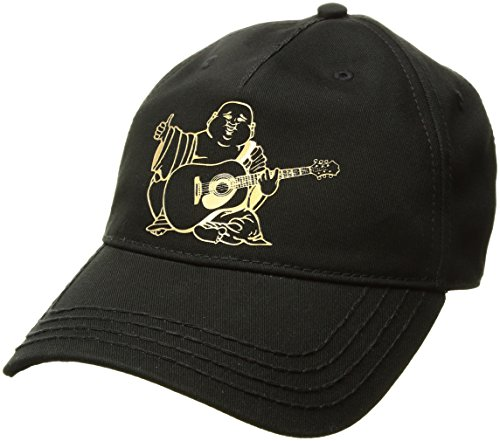 39625808 True Religion Men's Metallic Puff Buddha Baseball Cap, Black, One Size -  Buy Online in Oman. | Apparel Products in Oman - See Prices, Reviews and  Free ...
